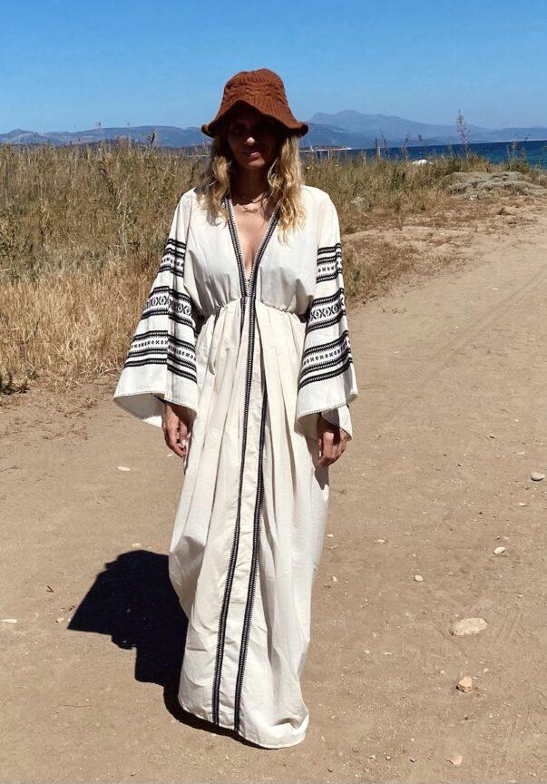 Celia Dragouni The Tayanita Kimono Dress