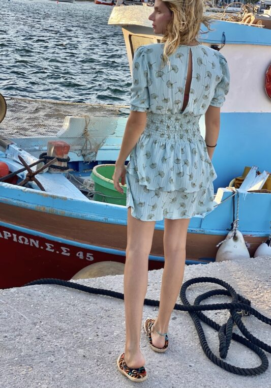 Celia Dragouni The Mini Blue Dandelion