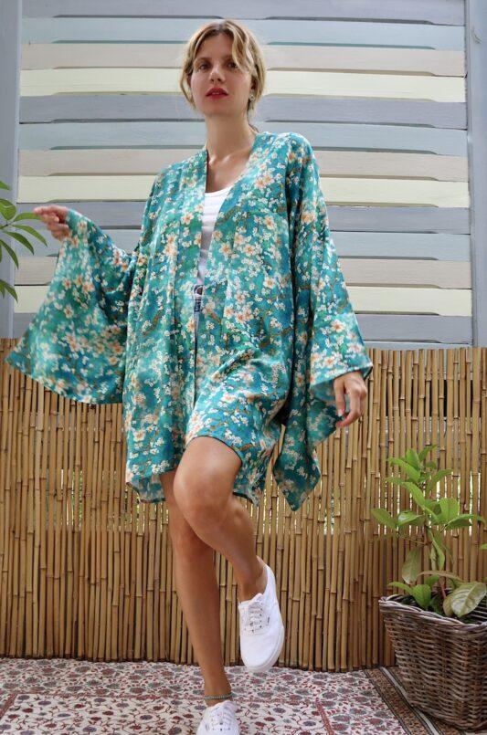 Celia Dragouni The Almond Flower Kimono
